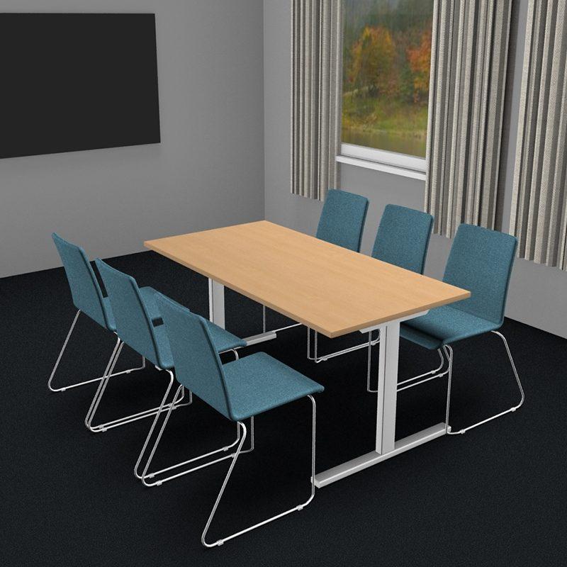 Møtebord/kantinebord i flere størrelser og farger-2059