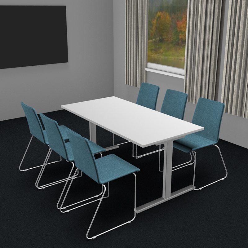 Møtebord/kantinebord i flere størrelser og farger-2057