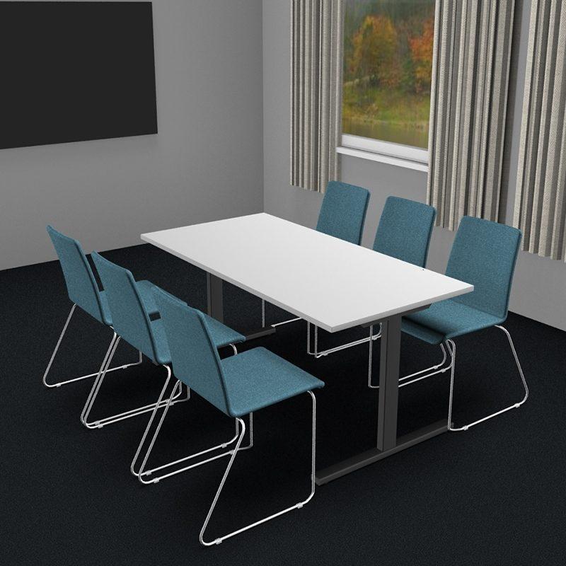 Møtebord/kantinebord i flere størrelser og farger-2056