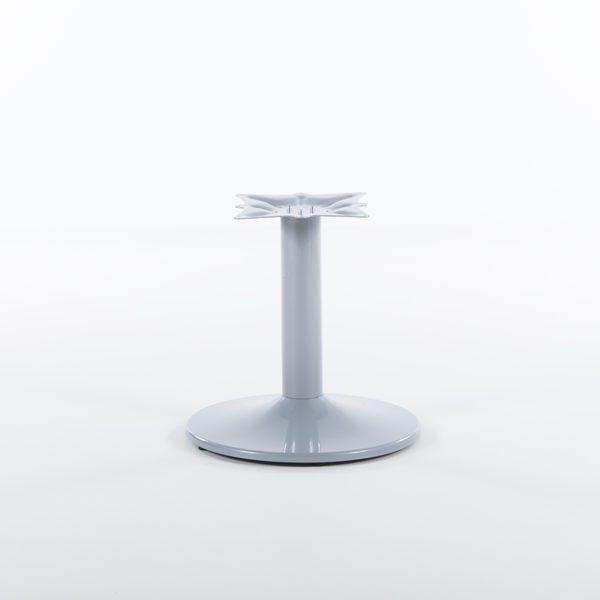 Søylefot 50 cm lav, sølv-0