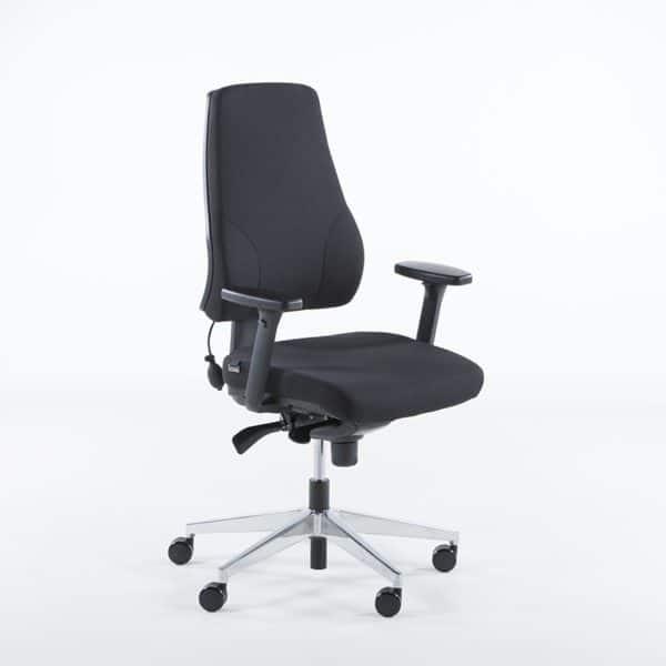Uni 09 kontorstol med korsryggpumpe-0
