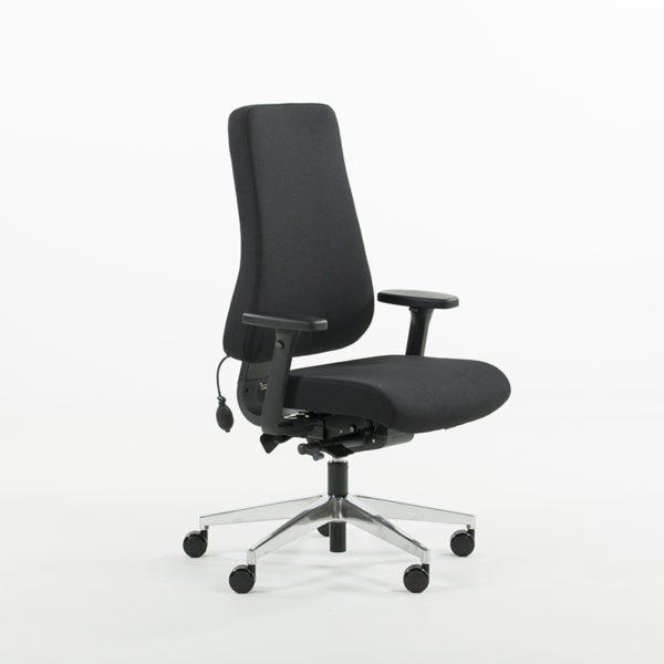 Uni 11 kontorstol med korsryggpumpe-0