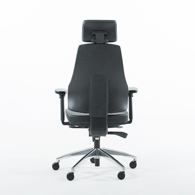 Uni 09 kontorstol i skinn-1549