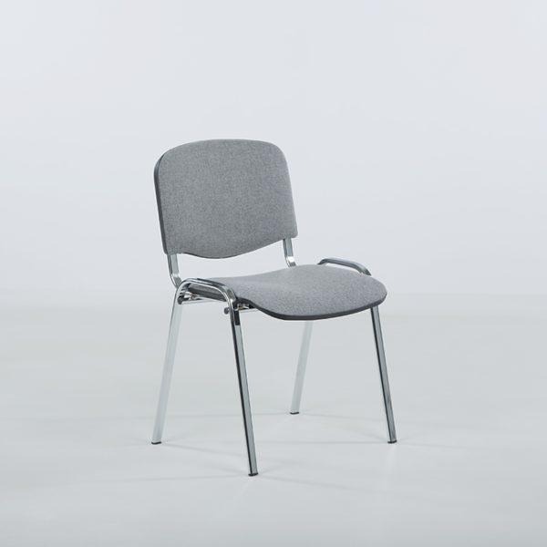 Iso konferansestol grå-0