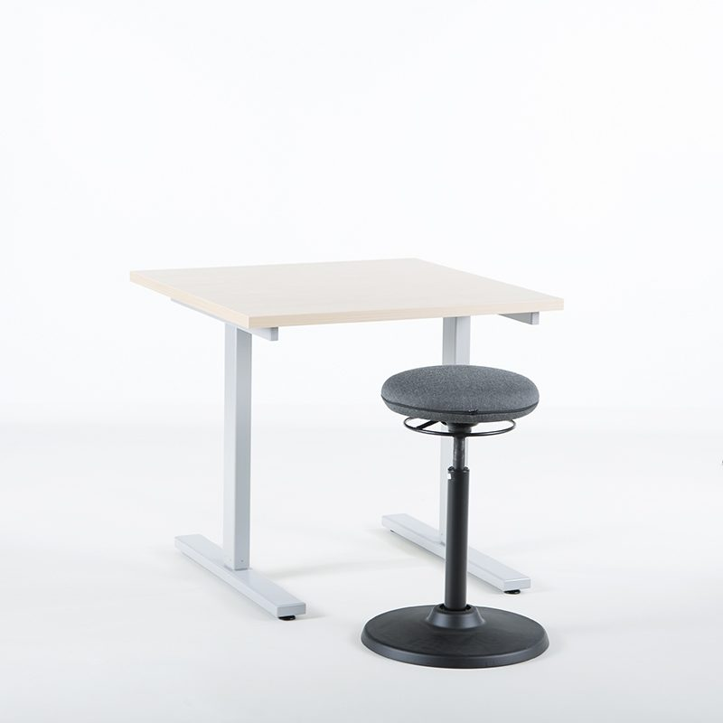KAMPANJE - Hev senk skrivebord, bordplate 80x80 cm-1837