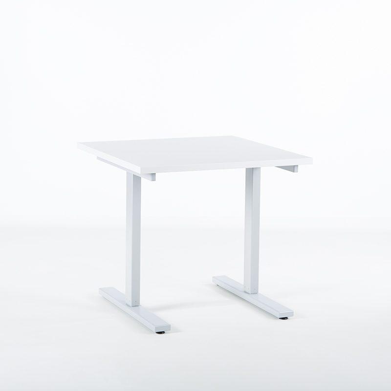 KAMPANJE - Hev senk skrivebord, bordplate 80x80 cm-2238