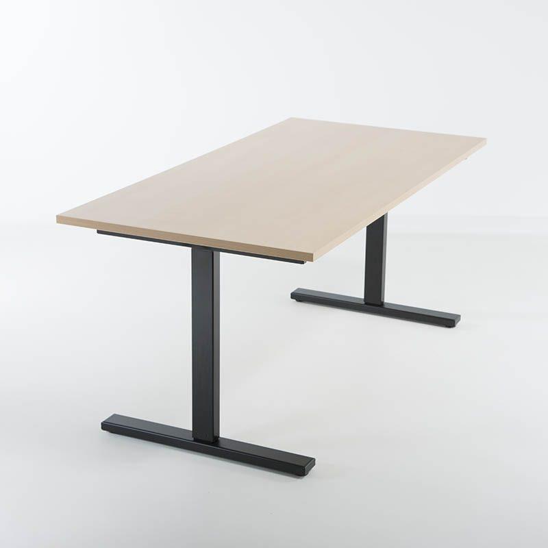 KAMPANJE - Hev senk skrivebord 160x80 cm-2114