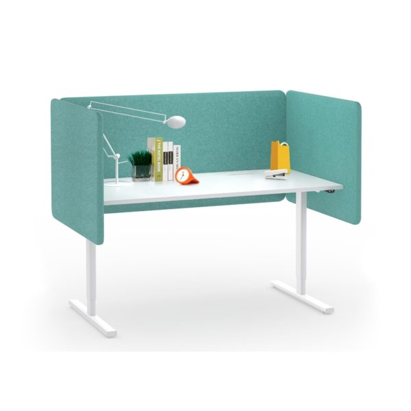 Akustiske bordskjermer høyde 760, mange ulike farger og bredder-0