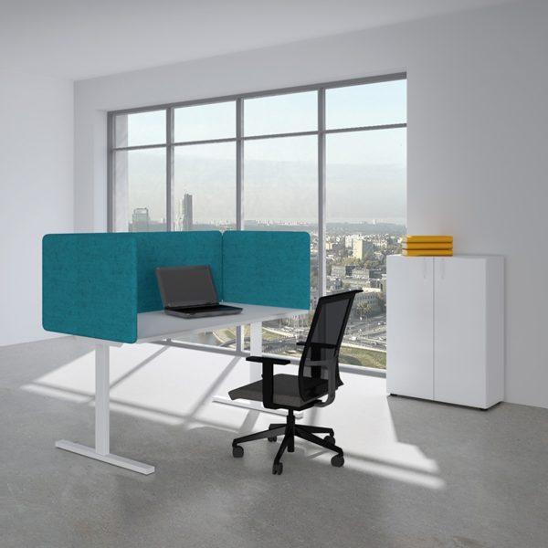 Akustiske bordskjermer høyde 530, mange ulike farge og bredder-0