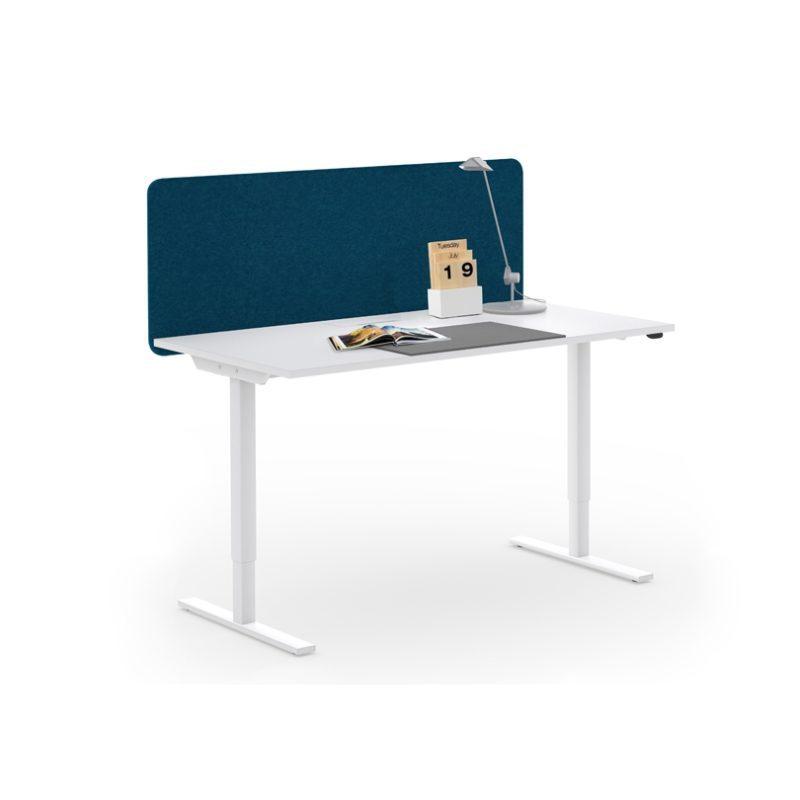 Akustiske bordskjermer høyde 530, mange ulike farge og bredder-1905