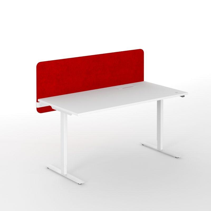 Akustiske bordskjermer høyde 530, mange ulike farge og bredder-1908