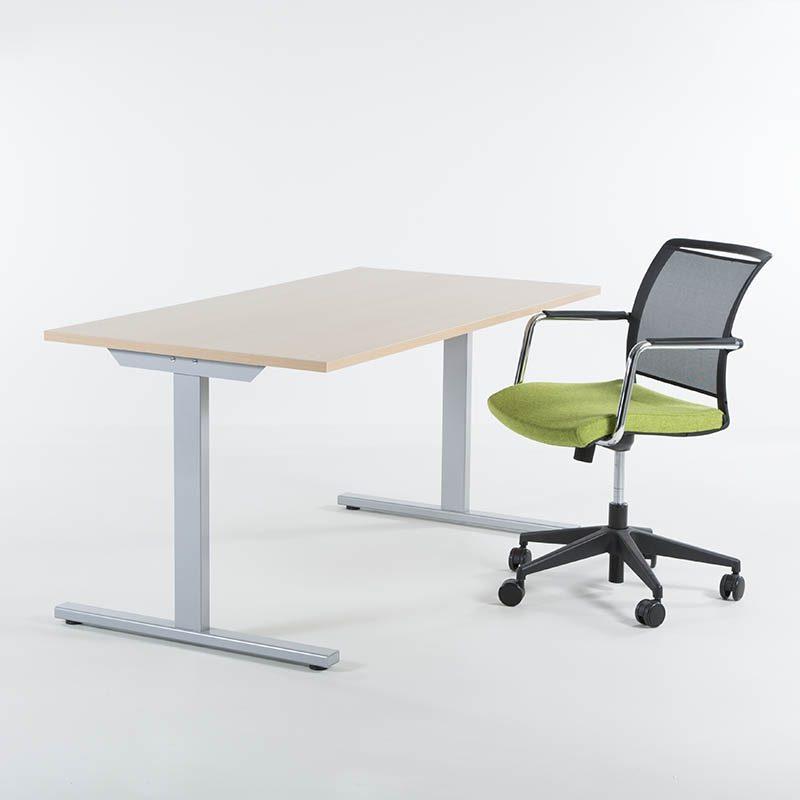 Skrivebord 140x80 cm, flere farger-2138