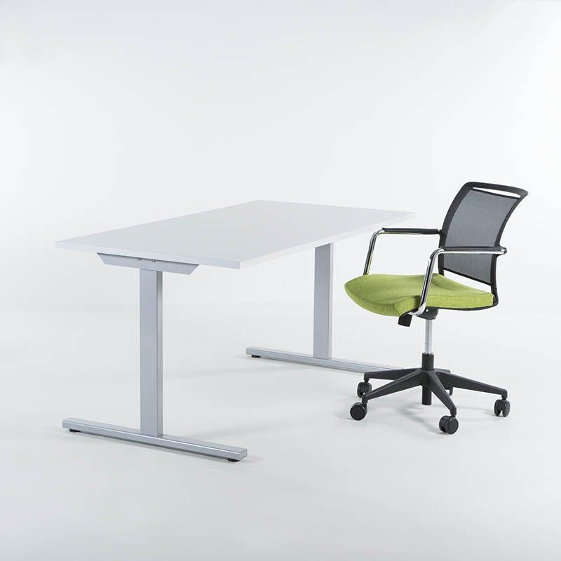 Skrivebord 140x80 cm, flere farger-2136