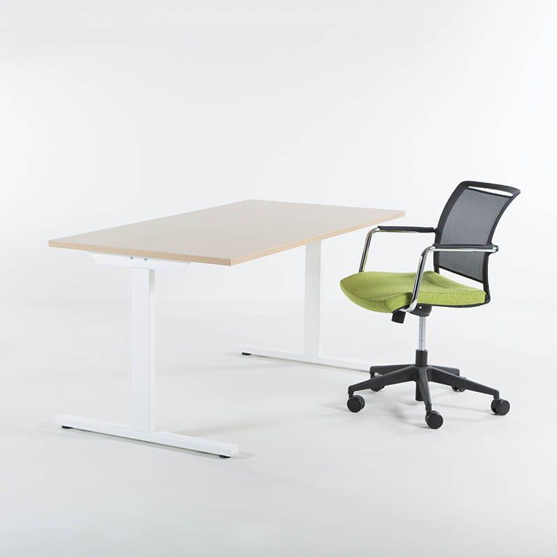 Skrivebord 140x80 cm, flere farger-2137