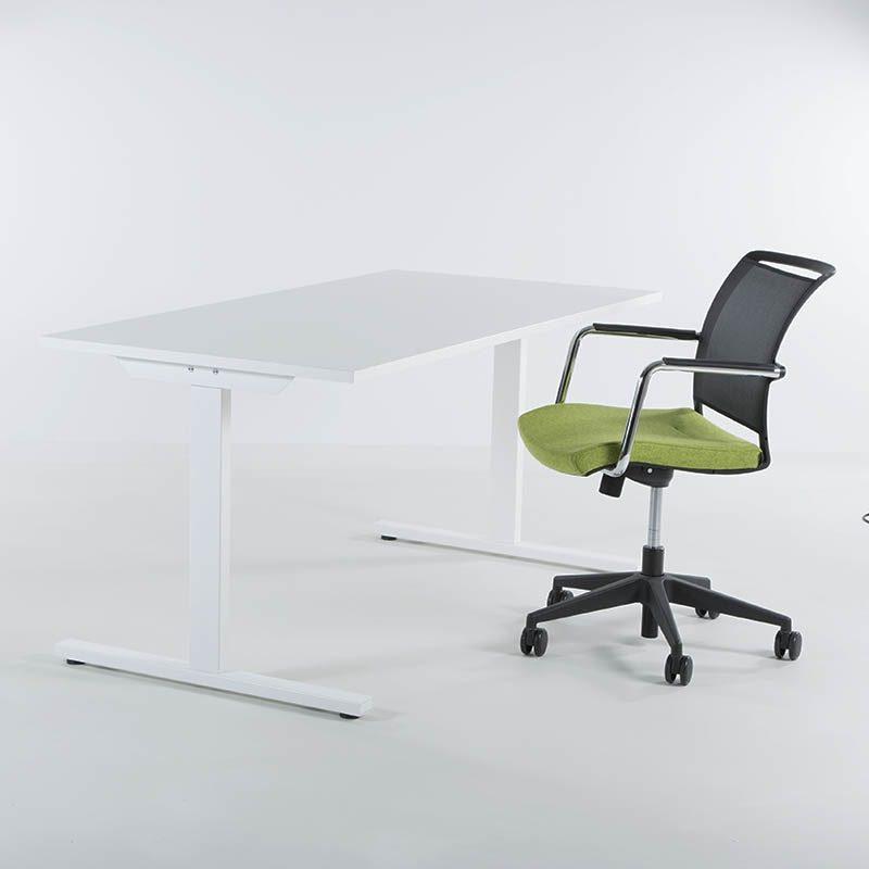 Skrivebord 140x80 cm, flere farger-2141
