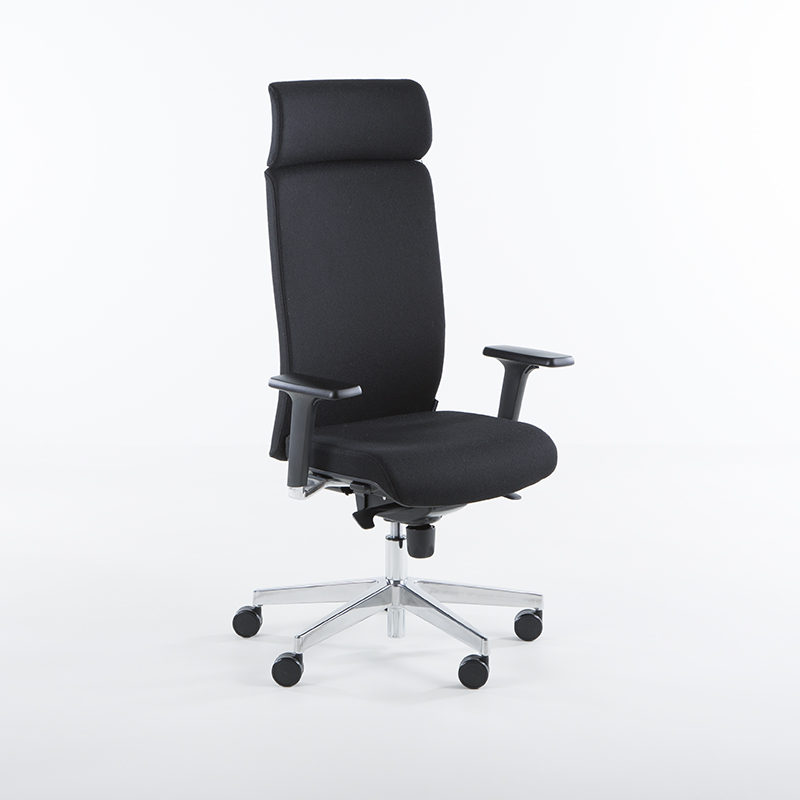 kontorstol, høy rygg, kontorstoler, ergonomisk, rask, levering, fredrikstad, sarpsborg