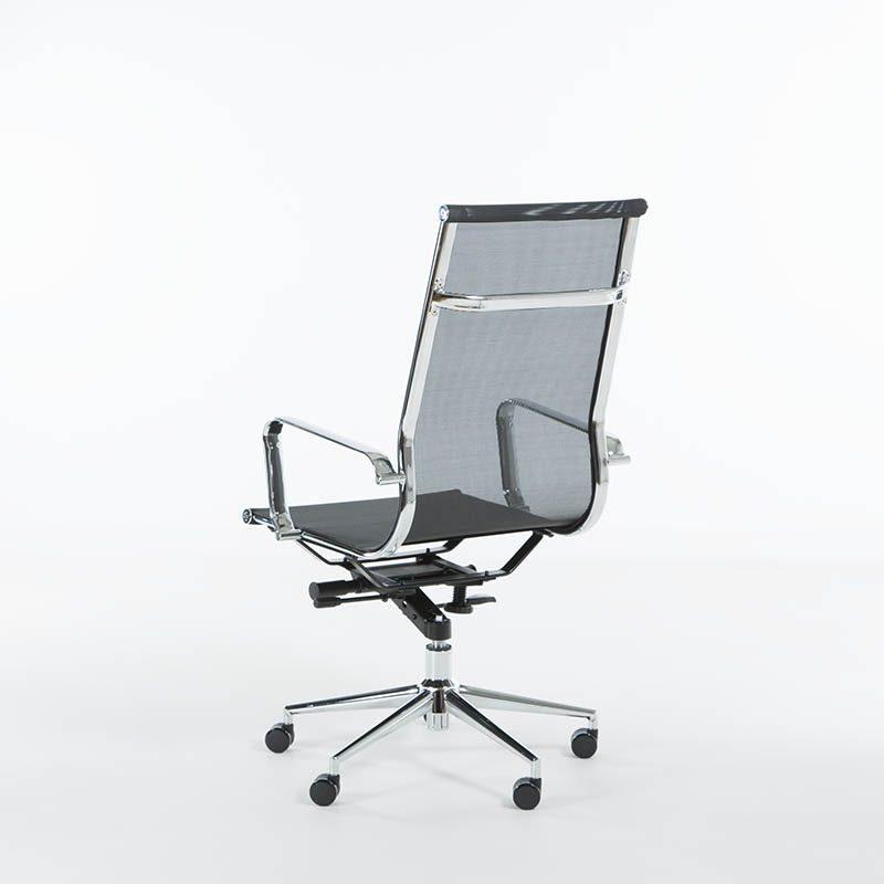 Lunar konferansestol i mesh høy rygg-2112
