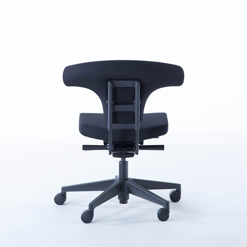 Kontorstol, T-rygg, grå, sort, kontorstoler, sarpsborg, fredrikstad