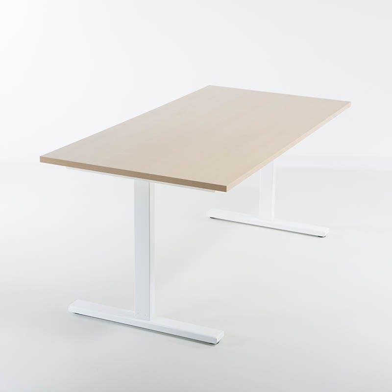 KAMPANJE - Hev senk skrivebord 120x80 cm-2246