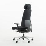 Uni 11 XL kontorstol med ekstra dypt sete, hodehviler-2254