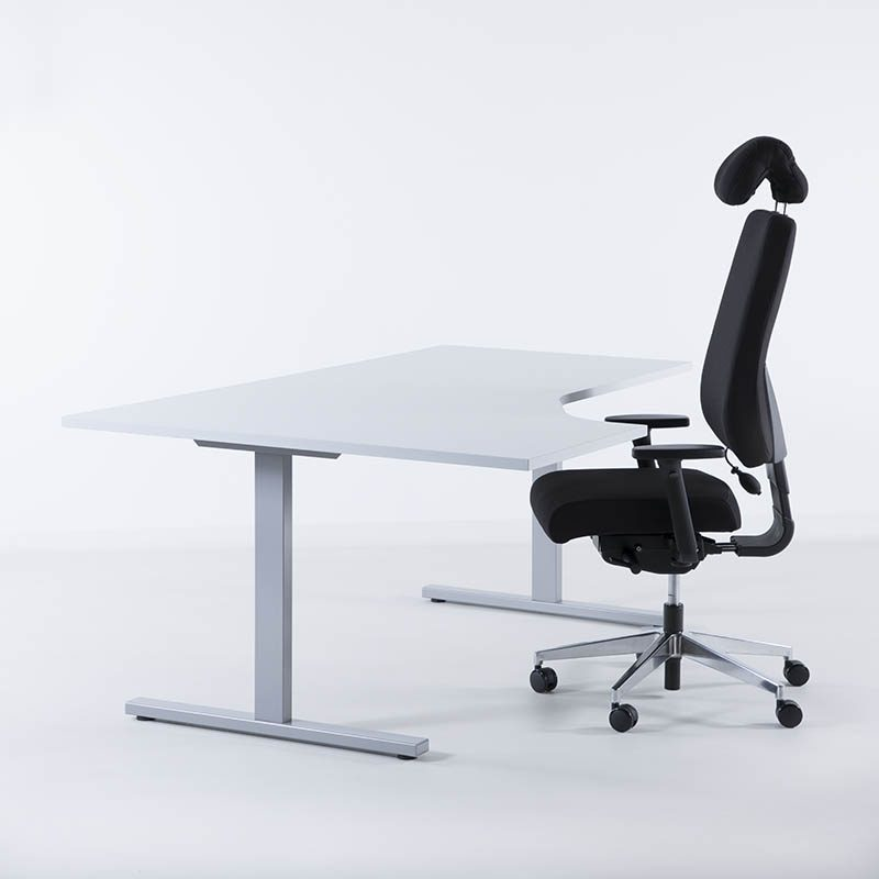 Hjørnebord, skrivebord, pult, skrivepult, bord